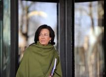 """Ana Botin a été désignée mercredi pour succéder à son père Emilio à la présidence de Santander au lendemain de la mort d'""""El Presidente"""", célèbre pour avoir fait de la petite banque la première d'Espagne et l'une des plus importantes de la zone euro. /Photo d'archives/REUTERS/Paul Hackett"""