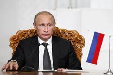 Presidente russo, Vladimir Putin, cujo país foi alvo de novas sanções da União Europeia nesta sexta-feira. 03/09/2014 REUTERS/B.Rentsendorj