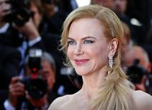 Atriz Nicole Kidman no tapete vermelho do Festival de Cinema de Cannes. 14/05/2014 REUTERS/Yves Herman