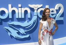 "Cast member Ashley Judd attends the premiere of the film ""Dolphin Tale 2"" in Los Angeles September 7, 2014. REUTERS/Phil McCarten"