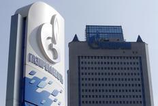 A investigação dos reguladores da União Europeia sobre a Gazprom, maior produtora de gás do mundo, foi suspensa por causa da crise na Ucrânia, mas isso não significa o fim do caso, disse o chefe antitruste da Europa. 12/09/2014 REUTERS/Sergei Karpukhin