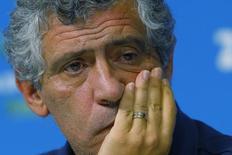 Técnico Fernando Santos, contratado como novo treinador da seleção de Portugal. 28/06/2014  REUTERS/Brian Snyder