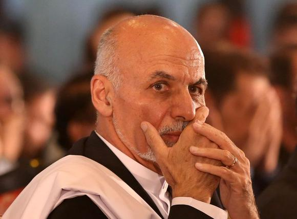 Afghan president-elect Ashraf Ghani Ahmadzai is seen before speaking at an event in Kabul September 22, 2014. REUTERS/Omar Sobhani