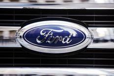 Logotipo da montadora norte-americana Ford. REUTERS/Lucas Jackson
