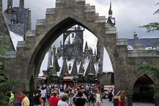 Vilarejo de Hogsmeade, do mundo mágico de Harry Potter, dentro do Universal Orlando Resort. 19/06/2014 REUTERS/David Manning