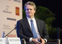 Bank of America Chairman and Chief Executive Brian Moynihan speaks during the Institute of International Finance Annual Meeting in Washington October 10, 2014. REUTERS/Joshua Roberts