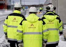 Areva, qui a signé avec le groupe espagnol Enusa un contrat pluriannuel pour la fourniture de services d'enrichissement d'uranium, à suivre lundi à la Bourse de Paris. /Photo d'archives/REUTERS/Roni Lehti/Lehtikuva