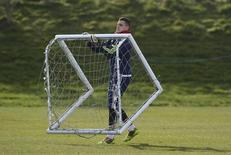 Goleiro do Sunderland Vito Mannone em foto de arquivo. 26/02/2010 REUTERS/Nigel Roddis