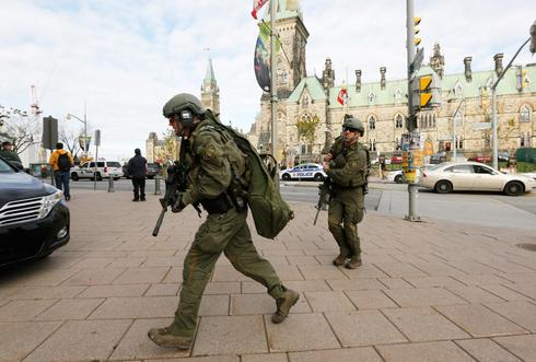 Shootings in Canada's capital