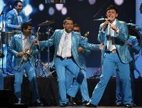 Banda el Recodo performs during the 2011 Billboard Latin Music Awards in Coral Gables, Florida April 28, 2011.   REUTERS/Hans Deryk