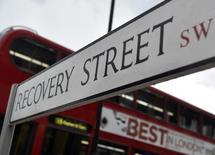 Sinal de rua fotogrado no bairro de Tooting, no sul de Londres. 25/07/2014. REUTERS/Toby Melville