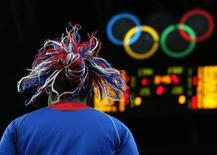 France's Isabelle Yacoubou is seen during the women's preliminary round Group B basketball match against Canada at the Basketball Arena during the London 2012 Olympic Games August 1, 2012. REUTERS/Sergio Perez