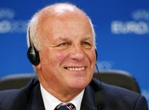 Presidente da Associação Inglesa de Futebol, Greg Dyke, em foto de arquivo. 19/09/2014  REUTERS/Denis Balibouse