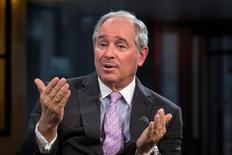 Stephen A. Schwarzman, Chairman and Chief Executive Officer of The Blackstone Group, speaks during an interview in New York in this file photo from February 27, 2014. REUTERS/Brendan McDermid/Files