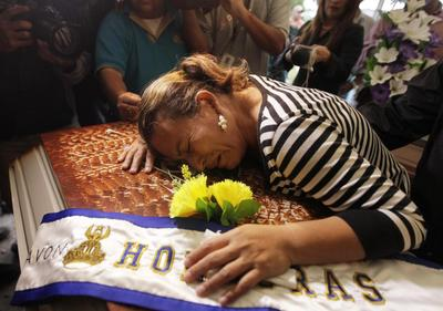 Mourning Miss Honduras