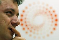 Wesley Batista, el presidente ejecutivo  de JBS, durante una cumbre de inversiones de Reuters en Sao Paulo. 25 marzo, 2011.  La firma brasileña JBS SA, la mayor exportadora de carne del mundo, acordó la compra del productor australiano de alimentos procesados Primo Smallgoods por 1.250 millones de dólares. REUTERS/Paulo Whitaker