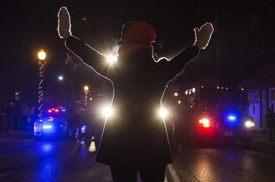 Protests over Ferguson continue