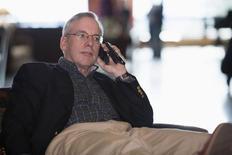 Presidente do Fed de Nova York, William Dudley, aguarda início de evento em Jackson Hole, nos EUA. 21/08/2014 REUTERS/David Stubbs