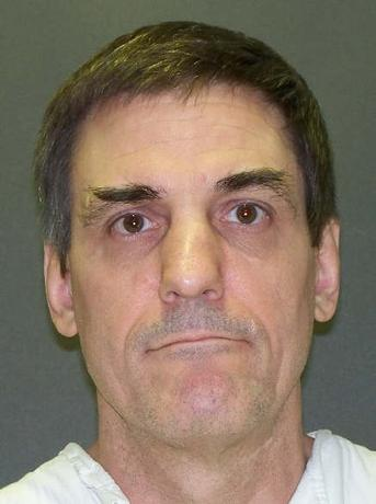 Inmate Scott Panetti is seen in an undated picture release by the Texas Department of Criminal Justice in Huntsville, Texas. A U.S. appeals court orders on December 3, 2014 issued a stay of execution for the mentally ill Texas death row inmate who was set to be put to death later in the day for the murders of two people.  REUTERS/Texas Department of Criminal Justice