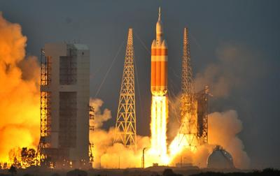Liftoff for Orion