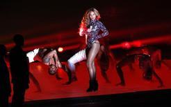 Cantora Beyonce durante show no MTV Music Awards, nos Estados UnidosREUTERS/Mario Anzuoni 24/08/2014