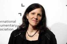 "Director Laura Poitras of the best feature award nominee ""Citizenfour"" poses at the International Documentary Association's 2014 IDA Documentary Awards in Los Angeles December 5, 2014.   REUTERS/Danny Moloshok"