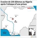 EVASION DE 200 DÉTENUS AU NIGERIA APRÈS L'ATTAQUE D'UNE PRISON
