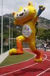 Mascote dos Jogos Olímpicos de 2016. 24/11/2014 REUTERS/Pilar Olivares