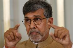 Nobel Peace Prize laureate Kailash Satyarthi speaks during a news conference in Oslo December 9, 2014. REUTERS/Suzanne Plunkett