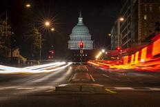 Vista parcial do Capitólia, sede do Congresso dos Estados Unidos, em Washington. 30/09/2013.  REUTERS/James Lawler Duggan