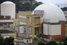 Foto de arquivo do complexo nuclear em Angra dos Reis. REUTERS/Ricardo Moraes (BRAZIL - Tags: DISASTER ENERGY ENVIRONMENT) - RTR2JW73