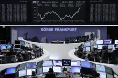 Bolsa de Frankfurt. REUTERS/Remote/Stringer   (GERMANY - Tags: BUSINESS)