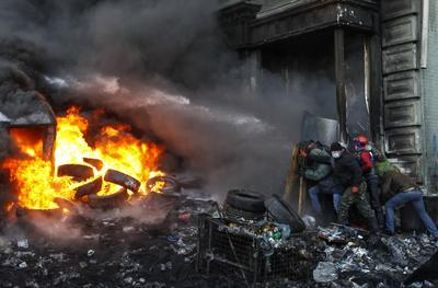 Pictures of the year: Ukraine