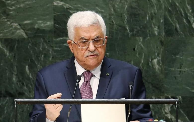 Palestinian President Mahmoud Abbas addresses the 69th United Nations General Assembly at United Nations Headquarters in New York, September 26, 2014.  REUTERS/Mike Segar