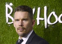 "Ethan Hawke attends a party honoring the film ""Boyhood"" in Los Angeles January 7, 2015. REUTERS/Phil McCarten"