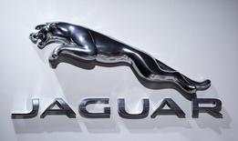 Logotipo da Jaguar. REUTERS/Carlo Allegri (UNITED STATES - Tags: TRANSPORT BUSINESS)