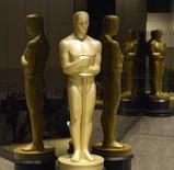 Estatuete do Oscar durante o anúncio dos indicados ao prêmio em Beverly Hills. 15/01/2015 REUTERS/Phil McCarten