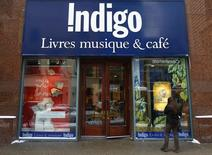 An Indigo Books and Music store is seen on Sainte Catherine Street in downtown Montreal, February 8, 2011.  REUTERS/Shaun Best