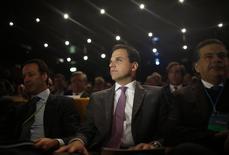Presidente-executivo da Oi, Bayard Gontijo, participa de assembleia de acionistas em Lisboa 22/01/ 2015.  REUTERS/Rafael Marchante