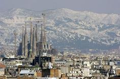 Igreja Sagrada Família, de Gaudí, em Barcelona. 09/03/2010 REUTERS/ Albert Gea