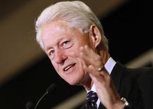Ex-presidente dos EUA, Bill Clinton, em foto de arquivo. 20/10/2014 REUTERS/Jonathan Bachman