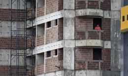 Prédio em construção em Natal, no Rio Grande do Norte. 14/06/2014.  REUTERS/Toru Hanai