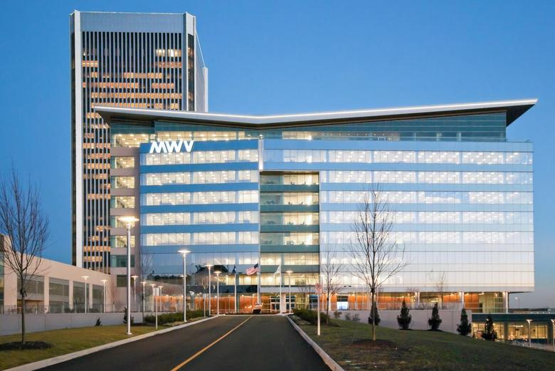 MeadWestvaco Corporation global headquarters in Richmond, Va. are seen in this undated handout photo. REUTERS/MeadWestvaco