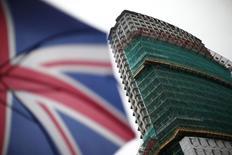 Prédio em reforma em Londres. 26/01/2015 REUTERS/Andrew Winning