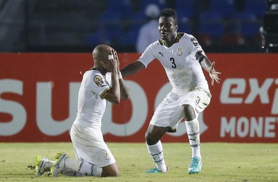 サッカー=アフリカ選手権、ガーナとアルジェリアが8強入り