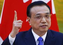 Premiê chinês, Li Keqiang, em foto de arquivo. 08/11/2014 REUTERS/Petar Kujundzic
