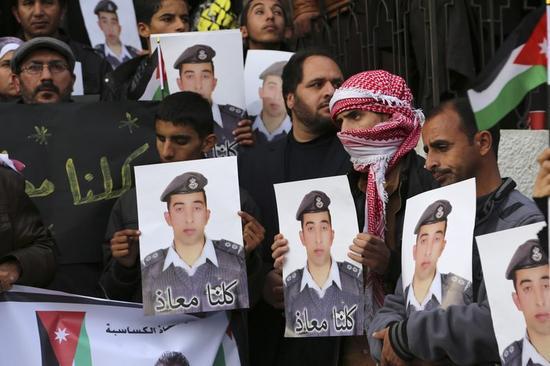 イスラム国がパイロット解放なら死刑囚釈放の用意=ヨルダン政府報道官