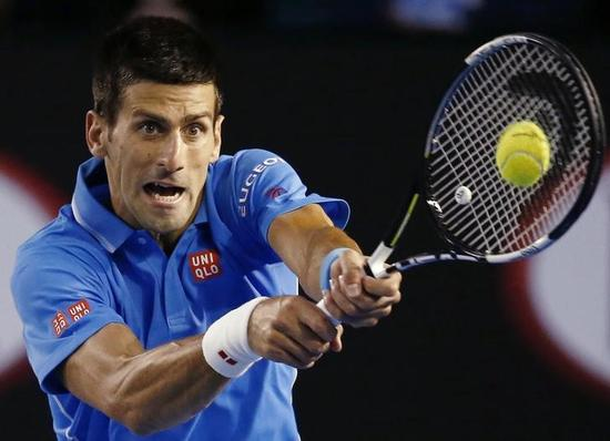 テニス=全豪OP、ジョコビッチがストレート勝利で準決勝へ