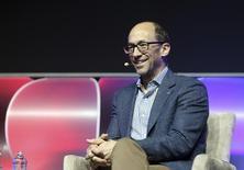 Dick Costolo, presidente-executivo do Twitter, durante convenção em Las Vegas. 08/01/2014 REUTERS/Robert Galbraith