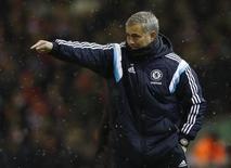 Técnico do Chelsea, José Mourinho. 20/01/2015  REUTERS/Phil Noble